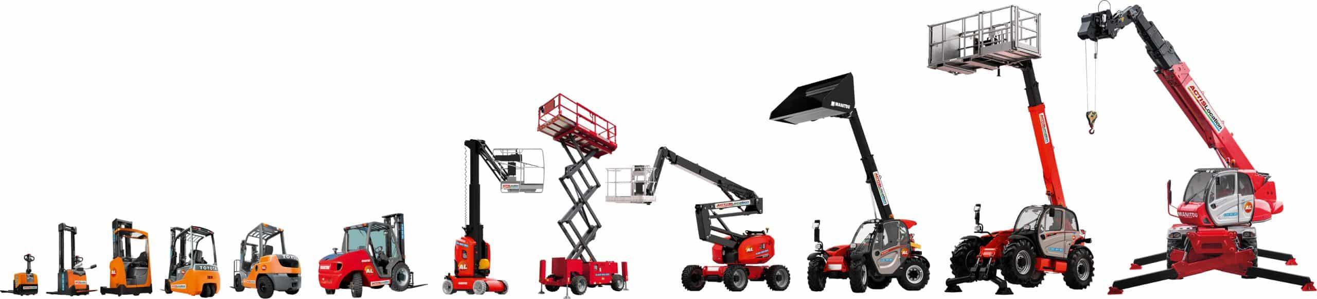 matériel de manutention en location