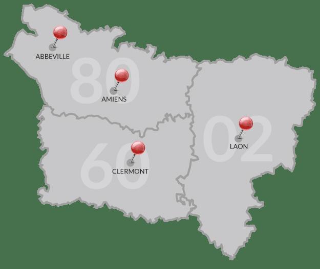 LM 4 agences en Picardie