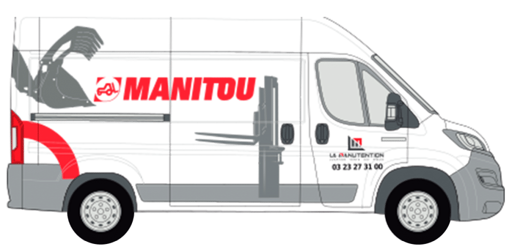 camion intervention SAV LM MANITOU