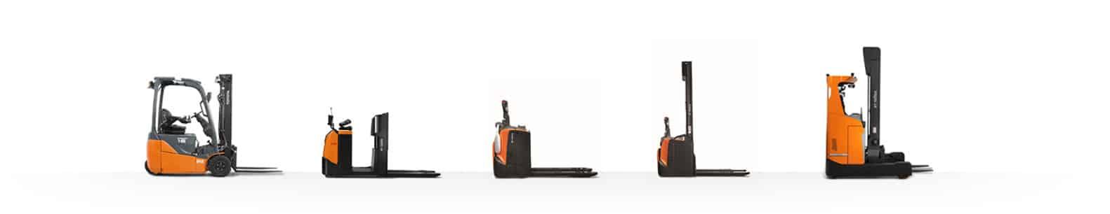 Chariots Toyota compatibles LI-ION