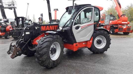 MLT 737 occasion LM Manitou