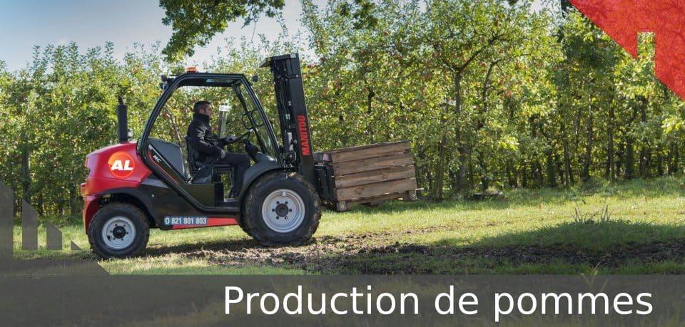 production de pomme
